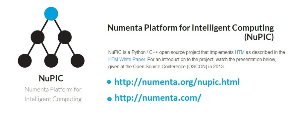 Machine Intelligence at Numenta. Contribute and have fun. (1/2)